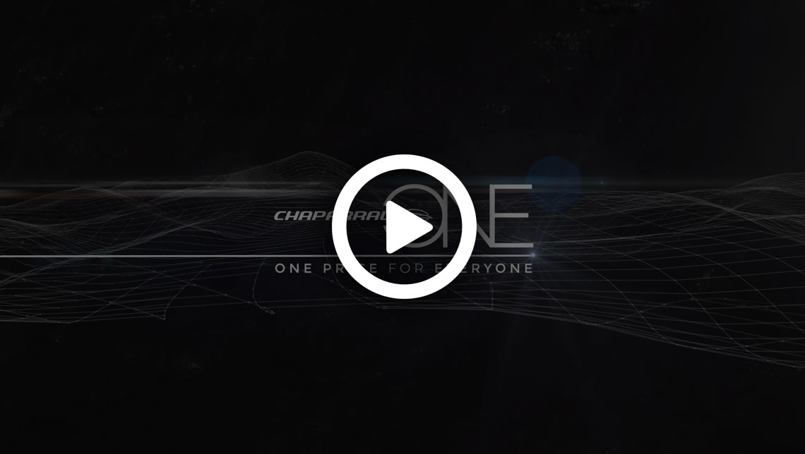 Chaparral One Overview Video - Click to Play
