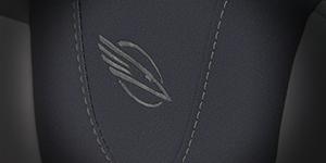 Macro Shot of Chaparral Bird logo