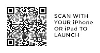 Scan with your iphone or ipad to activate.