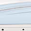 Wide Band Ice Blue Hull