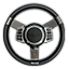 Steering Wheel with Medallion Viper II Control