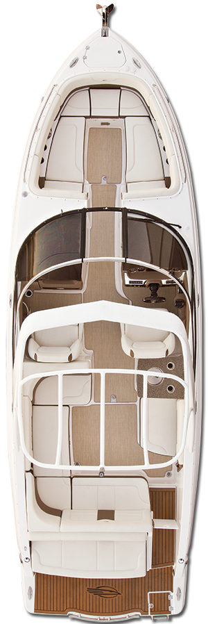 Overhead view of the  Chaparral 317 SSX