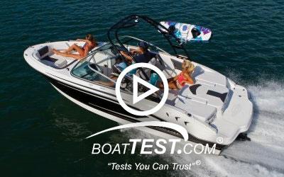 21 H2O Sport - BoatTest.com (2014)