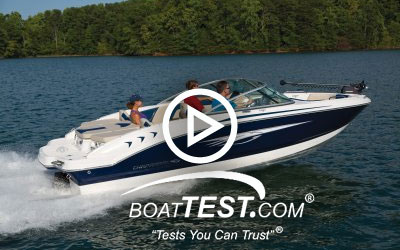 21 H2O Ski & Fish - BoatTest.com (2015)